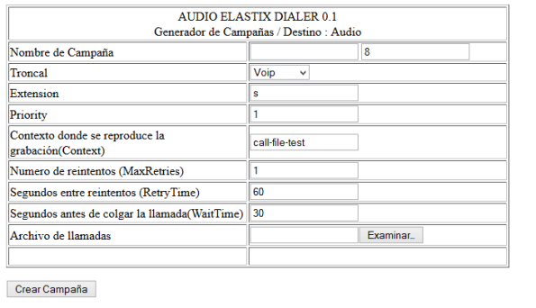 AudioElastixDialer