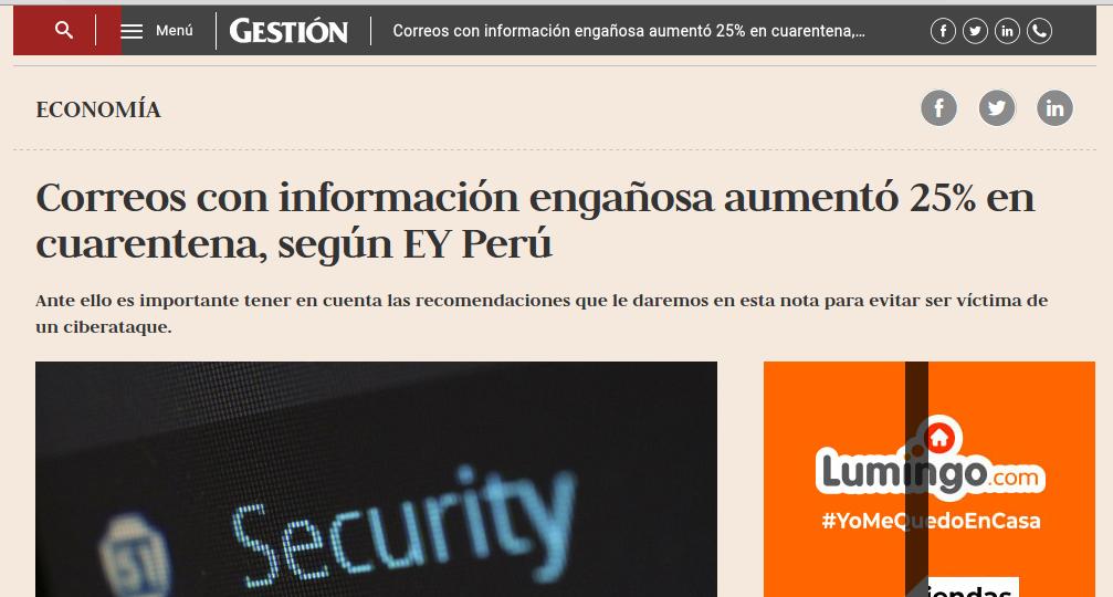 ciberataques en Peru